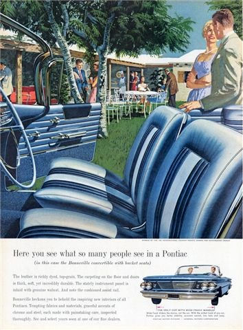 50 Classic Pontiac Print Ads