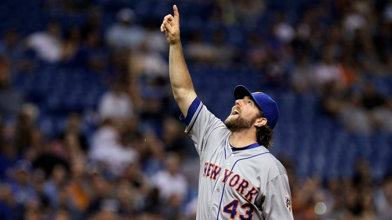 Why MLB Should've Given R.A. Dickey His No-Hitter (And Why MLB Didn't)