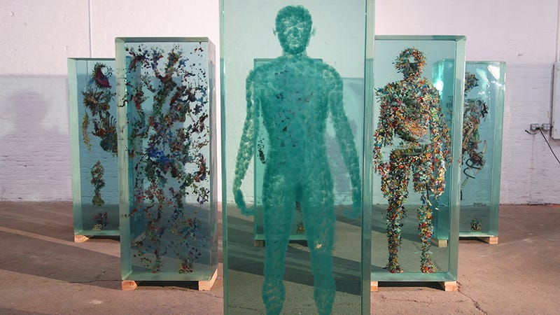 It Is Not Cryogenics, It Is Dustin Yellin