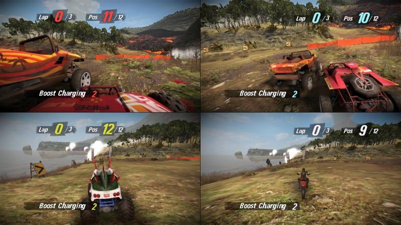New MotorStorm Pacific Rift Screens