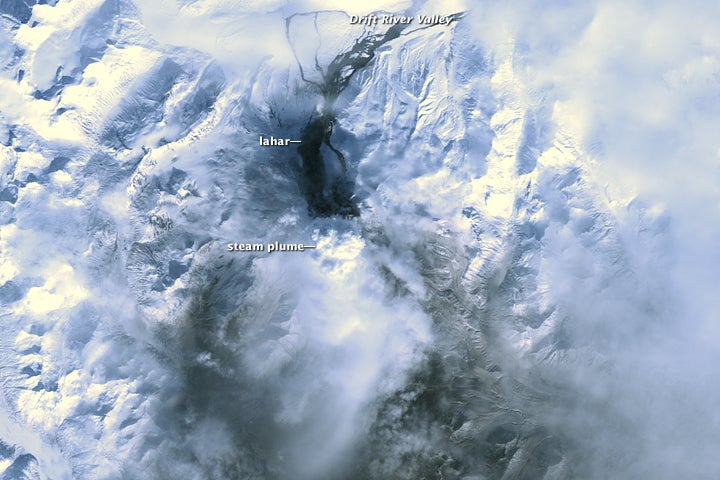 Redoubt Volcano Rains Ash and Spreads a Stink of Sulfur Over Alaska