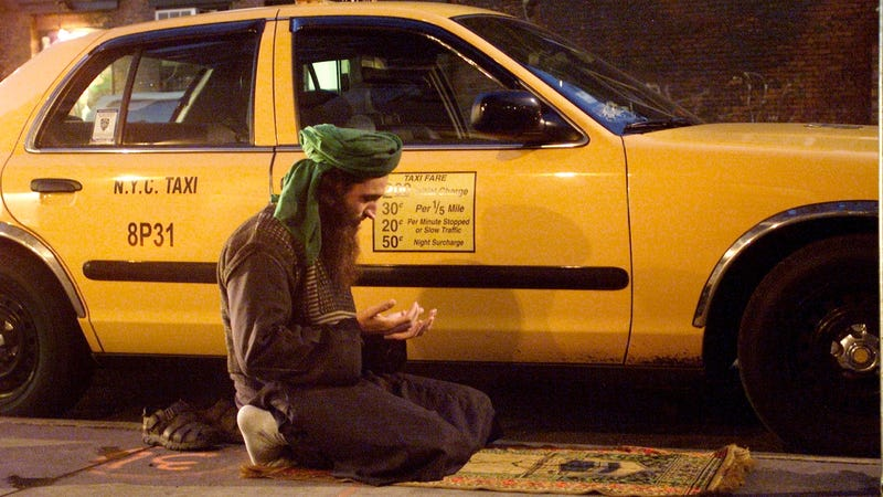 Islamofascist Cab Drivers Launch Shariah Double-Parking Attack