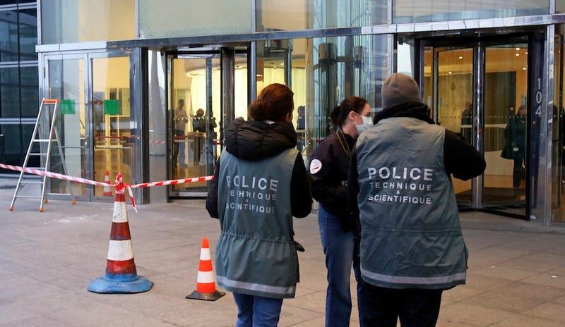 Paris Cops Hunt for Grenade Wielding Gunman Terrorizing Newsrooms