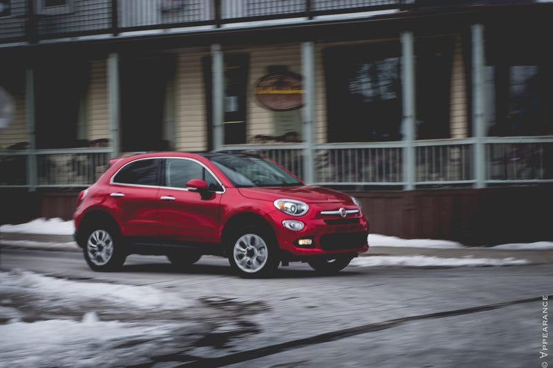 The Fiat 500X is a Jeep Renegade with an Italian Flair