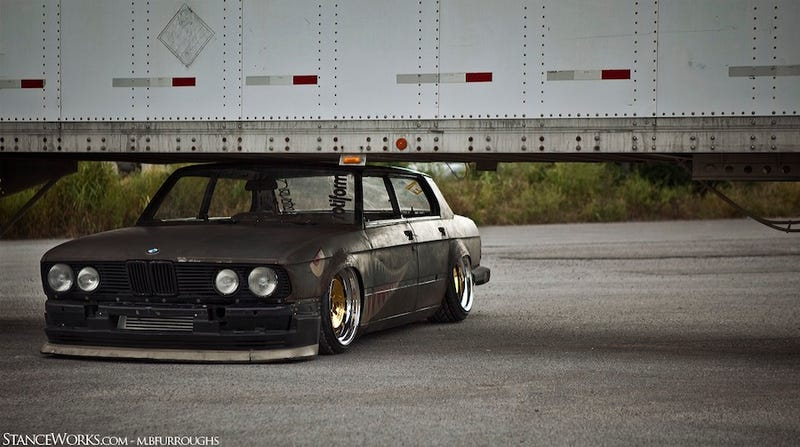 Meet Rusty Slammington: BMW Gets Chopped, Slammed And Rubbed The Wrong Way