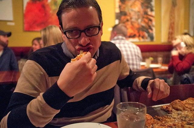 Így néz ki egy férfi, aki 25 éve csak pizzát eszik