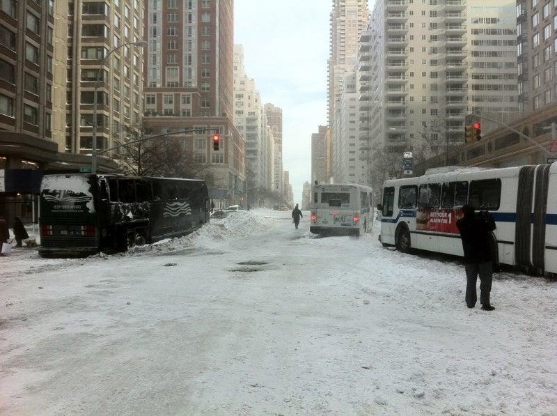 The New York City Snowpocalypse In Pictures