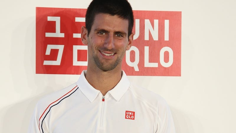 Novak Djokovic Signs With Uniqlo
