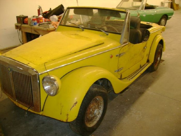 For $2,500, This Oughta' Be Your Siata. '60s Week