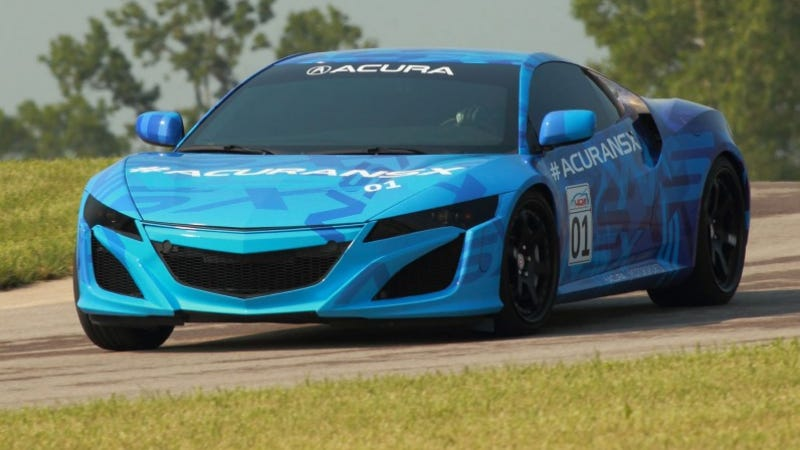 Here Is Even More Video Of The Not-Vaporware Acura NSX