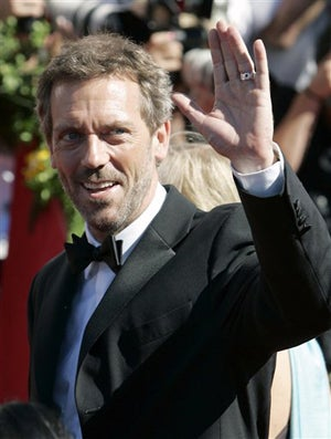 "Breaking: Hugh Laurie Is ""Minor""-ly Depressed; Jessica Simpson Has Cramps."