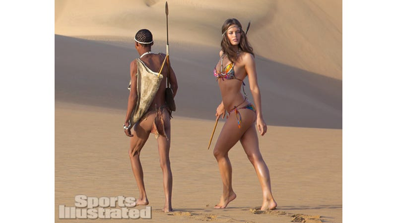 Sports Illustrated Swimsuit Issue Goes to 7 Continents, Finds Exotic People to Use as Props