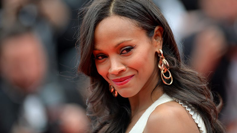 Zoe Saldana: Movies Need to Tell Stories About Women