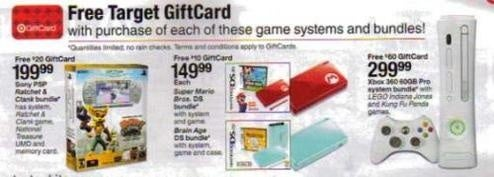 Target Touts Small Game Deals for Black Friday