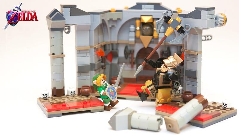 The Legend Of Zelda Didn't Make The LEGO Ideas' Cut