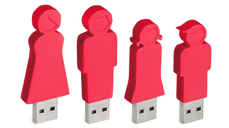 The Flash Drive Family That Saves Together, Stays Together