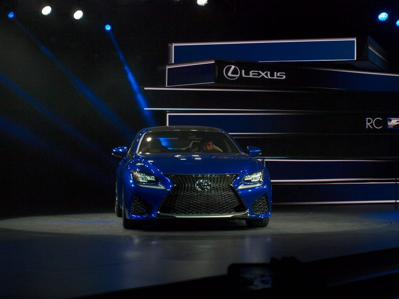 The Lexus RC-F: Faster Than A Shelby Cobra, Maybe, I Dunno