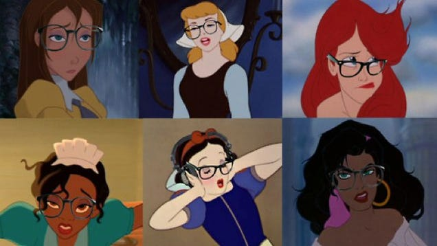 Disney Princess Meme Mulan Hipster Disney Princesses take