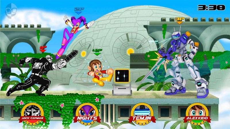 If Sega Made a Smash Bros. Game, I Would Die a Happy Man