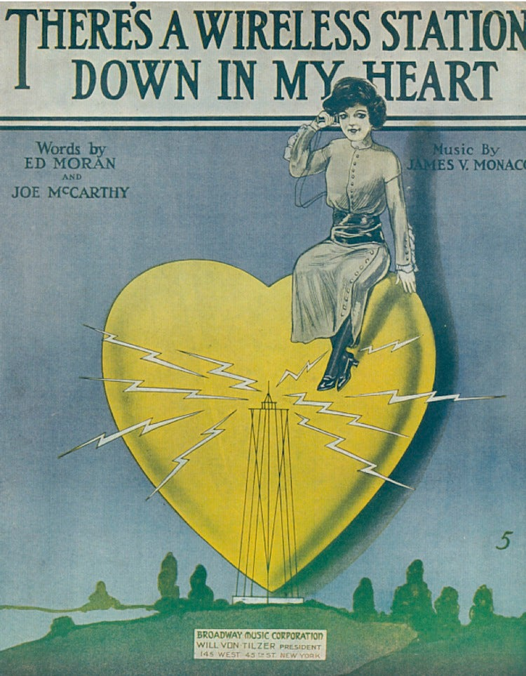 Vintage Music Covers Were the Tentpole Movie Posters of 100 Years Ago