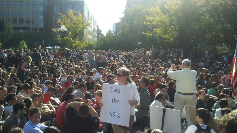 Occupy Wall Street Expands to Washington Square Park