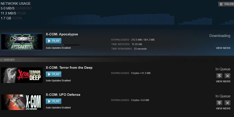 Steam Update Saves Precious Mouse-Clicks During Installation