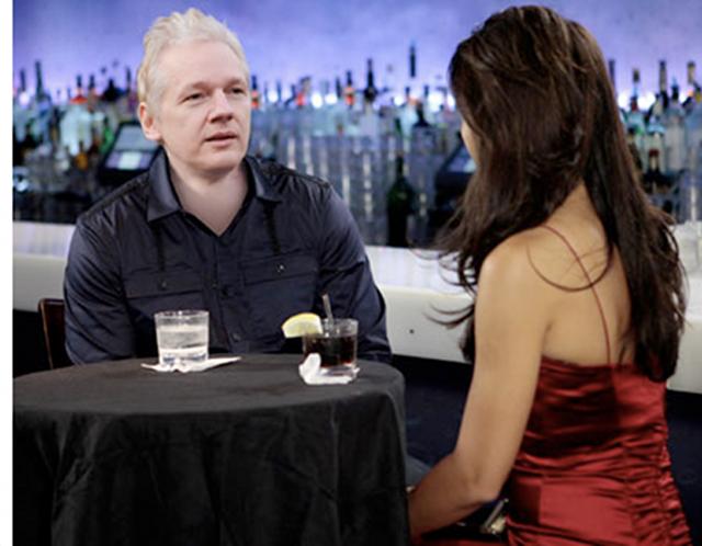 Millionaire Matchmaker Takes On Julian Assange