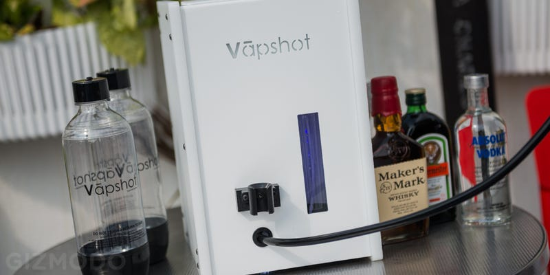 Vapshot Mini Review: Vaping Alcohol Is One Hell of a Fun Gimmick