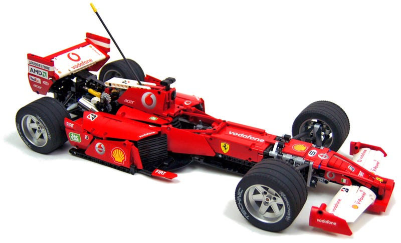 The Decal Work Alone On This Lego Ferrari F1 Car Is Amazing