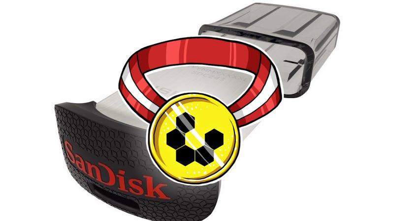 Most Popular USB 3.0 Flash Drive: SanDisk Ultra Fit