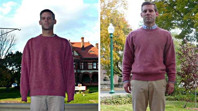 Shrink a Wool Sweater and Make It Fit Again