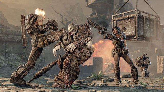 Three New Looks At Gears of War 3