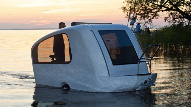 Fall Out of This Amphibious Trailer on Your Next Vacation