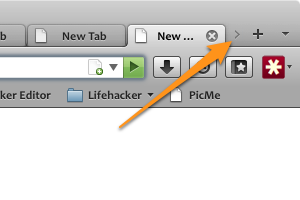Custom Tab Width Fits More Tabs in Firefox's Title Bar