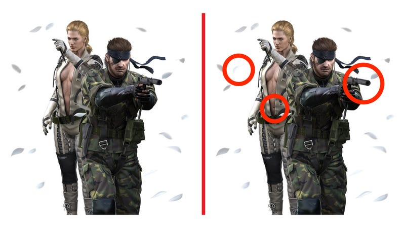 Can You Spot the Differences in These Metal Gear Images?