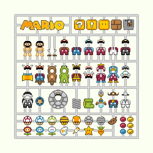 Link, Samus and Mario are Model Nintendo Characters