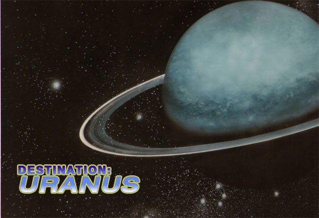 Scientist Plan Probe To Study Uranus