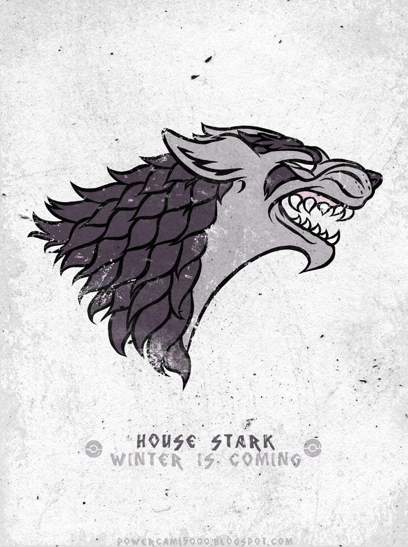 If The Game of Throne House Sigils Were Reimagined As Pokémon