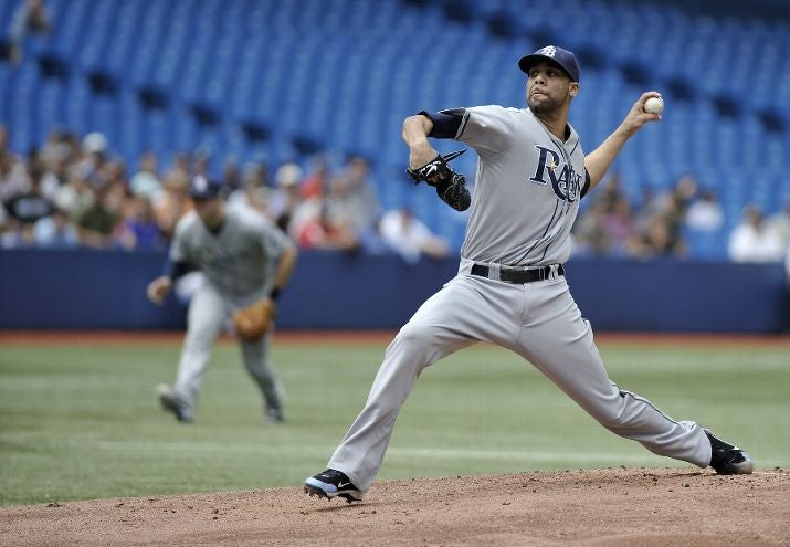 David Price Has 12 K's Through Five Innings Against The Blue Jays. You Should Probably Watch.