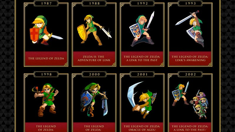 Zelda Games Used to be a Rare Thing