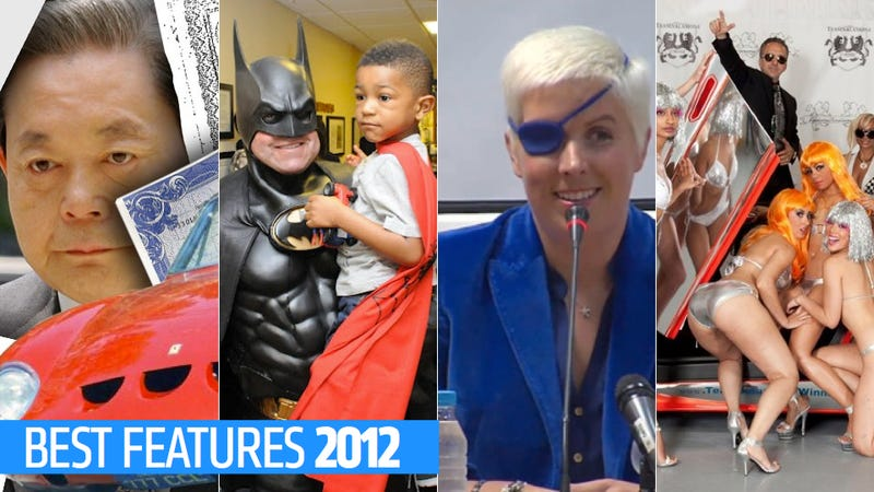 Stolen Ferraris, Lambo Owners, And A Plan To Steal The Shuttle: Jalopnik's Best Features Of 2012