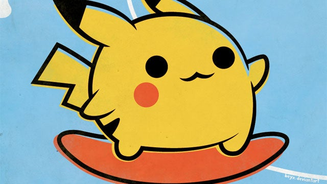Pokemon Do Surf