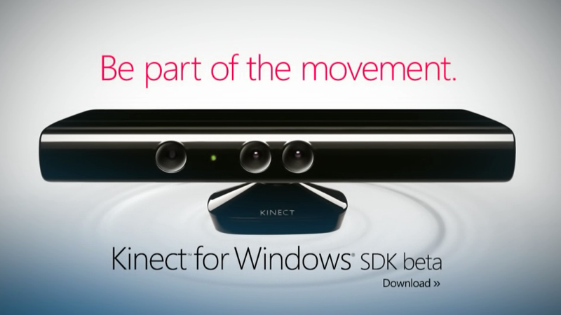 Microsoft's Kinect for Windows SDK Beta Is Out