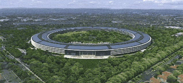 This Flyover Shows What Apple's New HQ Will Look Like From the Air