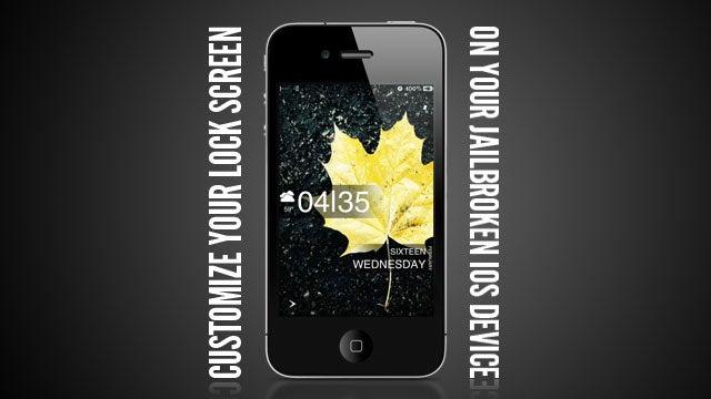 How to Customize Your Jailbroken iOS Lockscreen