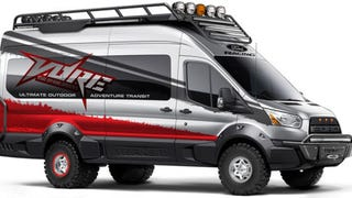 This Ford Raptor-Style Transit Van Is The Ultimate Off-Road People Mover