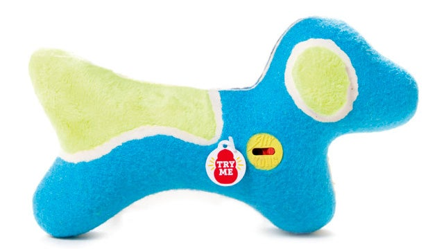 Squeaky Toys With Mute Buttons Will Save Dog Owners' Sanity