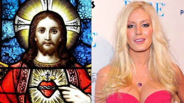 How is Heidi Montag Like Jesus?