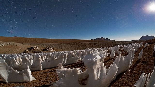 The mysterious icy figures who haunt the Andes