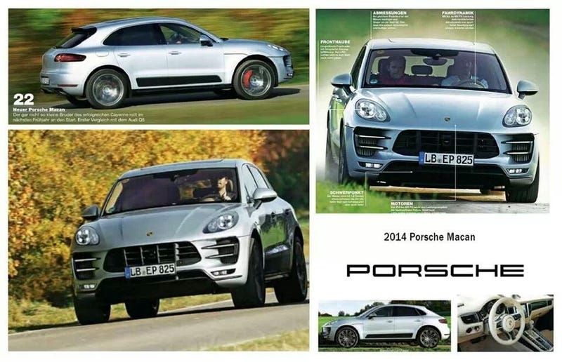 Porsche Macan: This Is (Almost Definitely) It